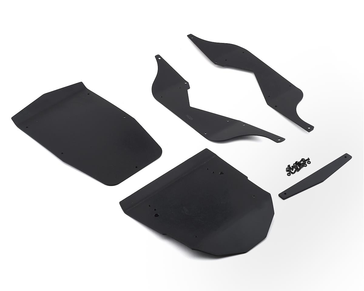 T-Bone Racing Axial Wraith Body Panel Set (Black)