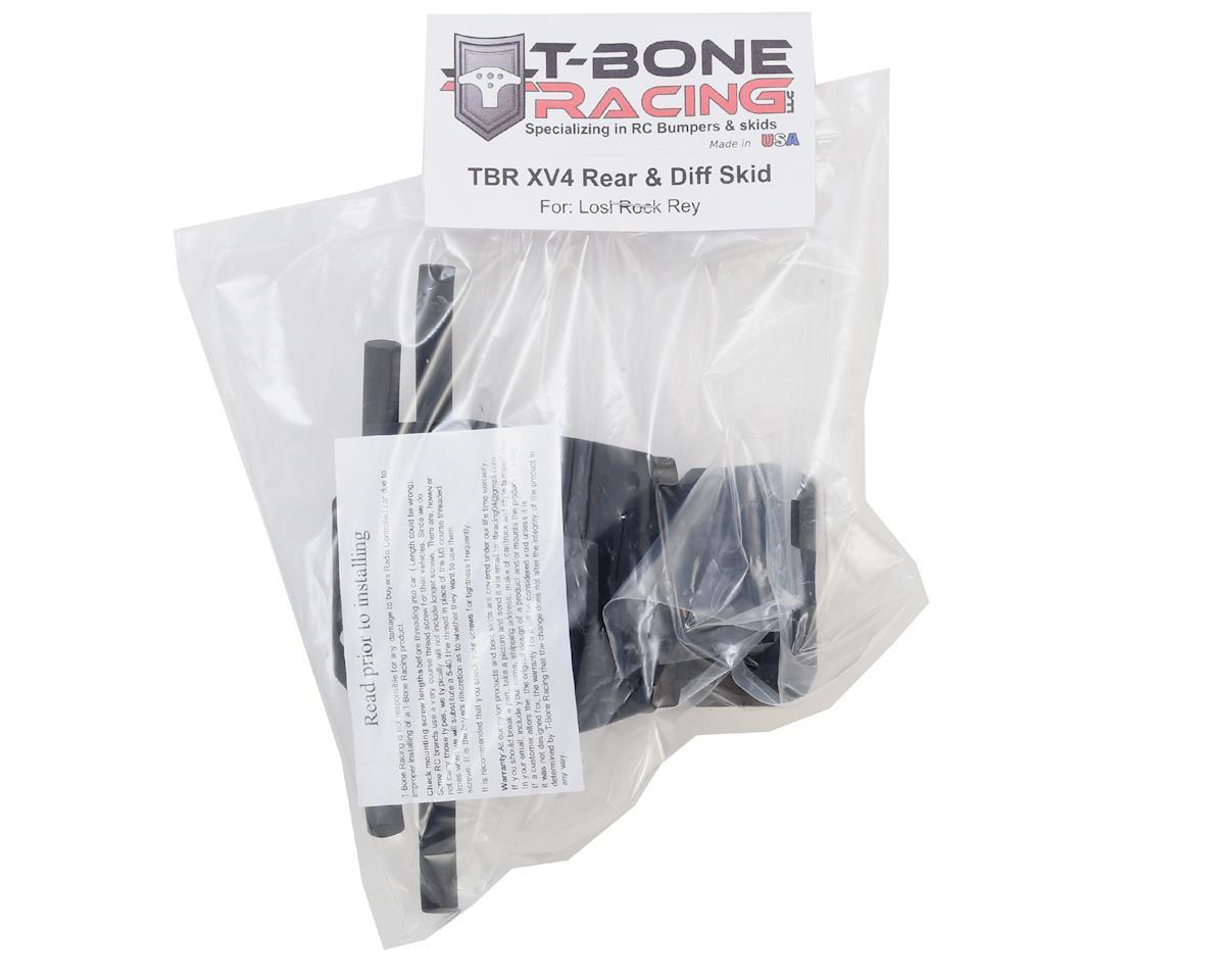 T-Bone Racing Losi Rock Rey XV4 Rear Bumper & Diff Skid