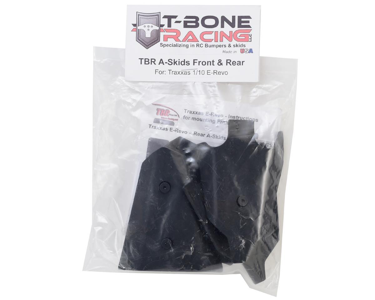 T-Bone Racing Traxxas E-Revo Front/Rear A-Skids