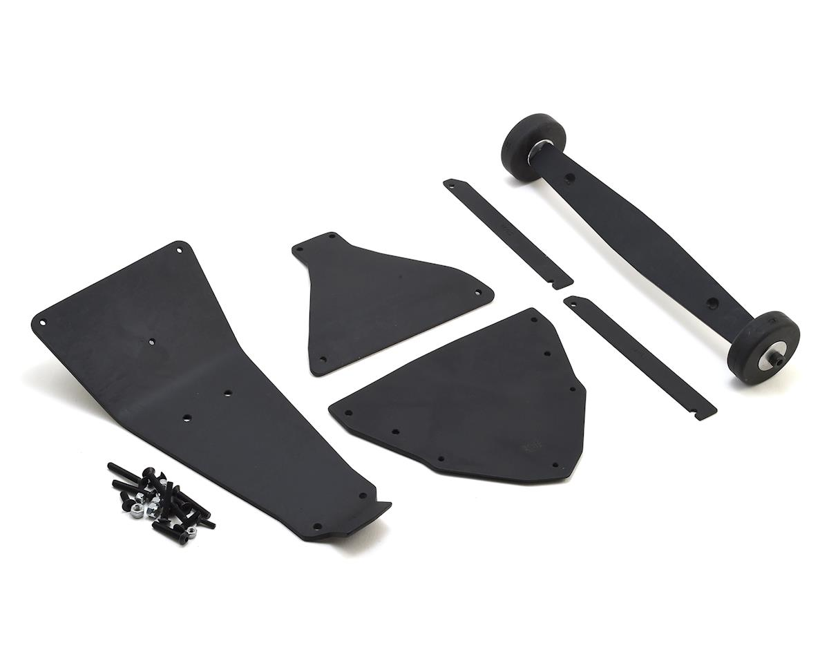 Traxxas X-Maxx V4 Rear Wheelie Bar Set by T-Bone Racing