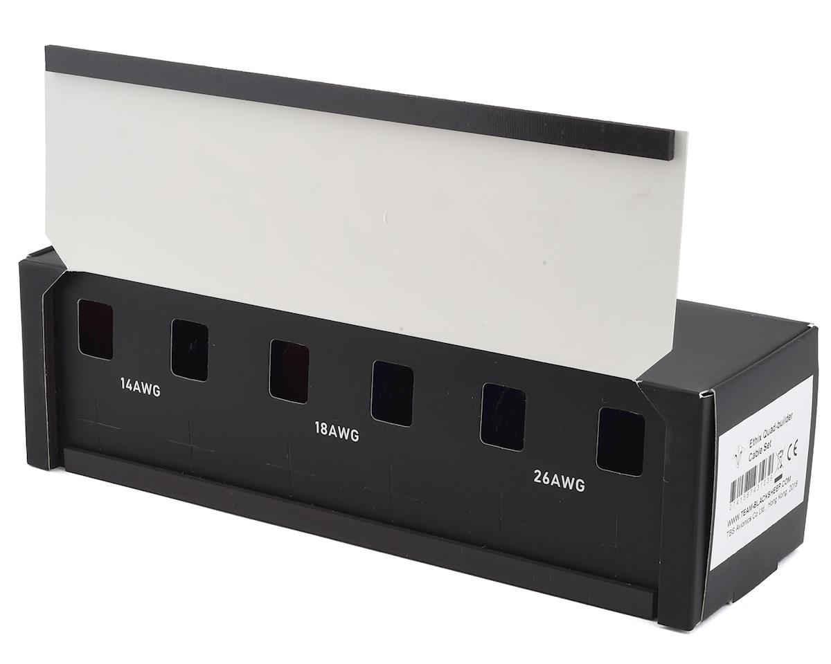 Team BlackSheep ETHIX Quad Builder Silicone Wire Cable Set