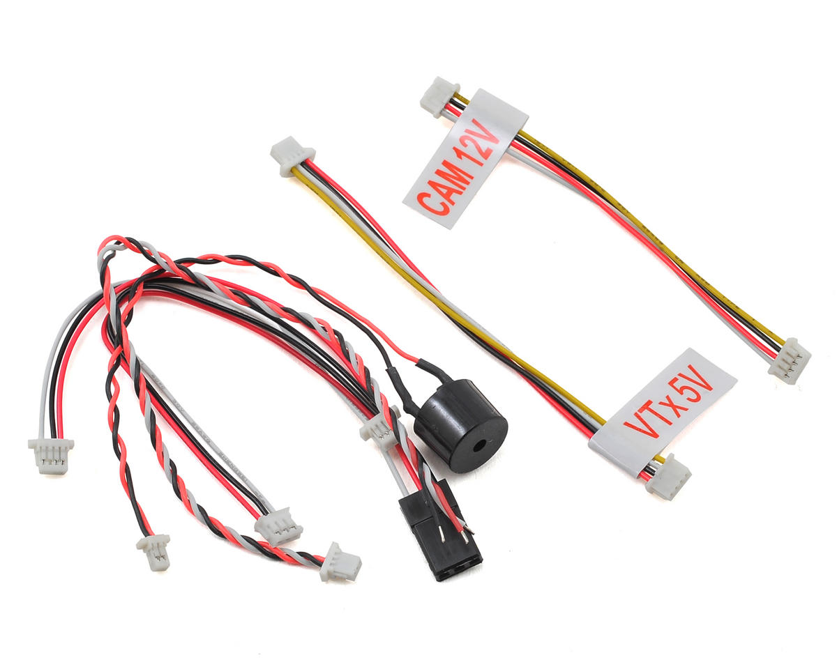 Team BlackSheep QQ190 TBS PowerCube & Colibri Race Cable Set