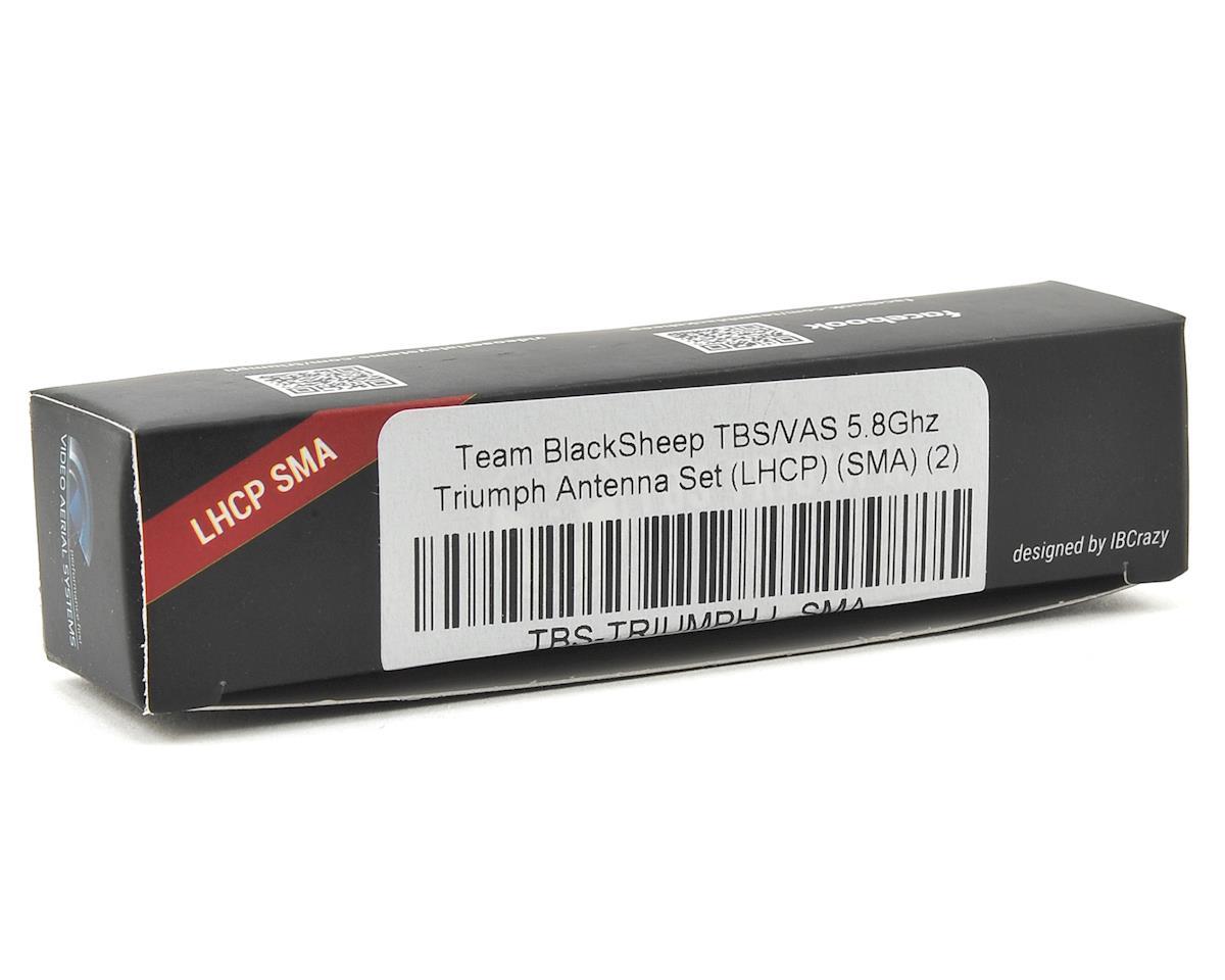 Team BlackSheep TBS/VAS 5.8Ghz Triumph Antenna Set (LHCP) (SMA) (2)