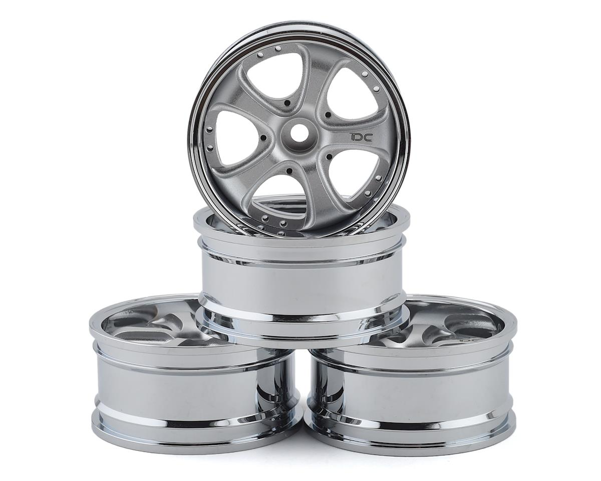 Team DC VS KF Aluminum 1/10 Drift Wheel Set (Silver) (4) (+3/+6/+9 Offset)   relatedproducts