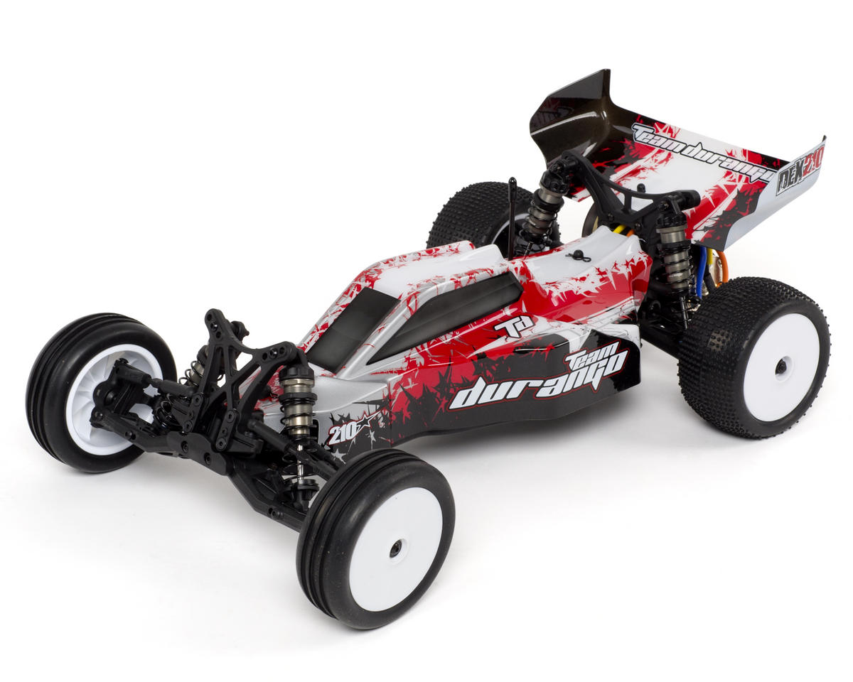 Team Durango DEX210 1/10 Electric 2wd Off Road RTR Buggy w/2.4GHz Radio (Red)