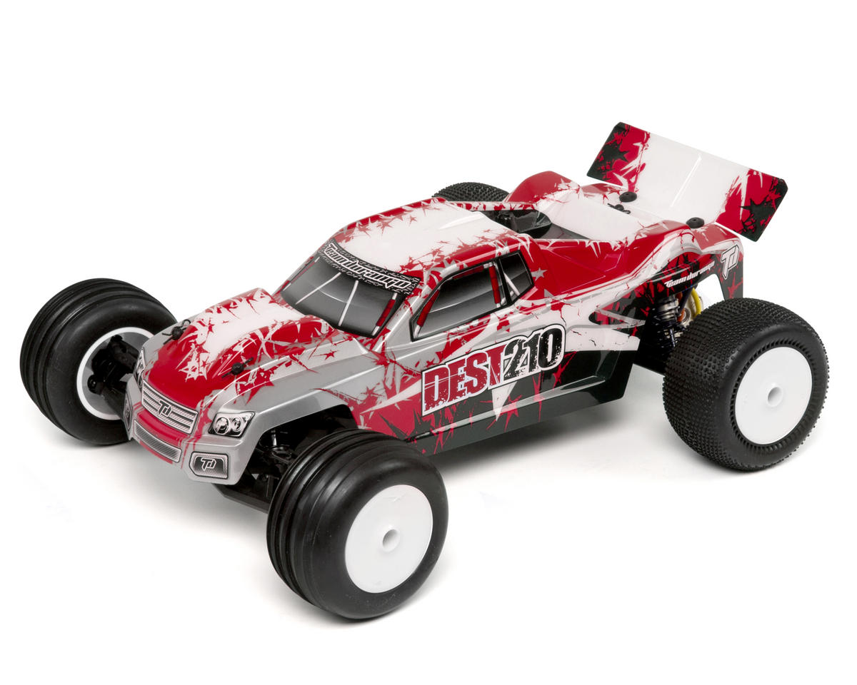 Team Durango DEST210 1/10 2WD Electric RTR Stadium Truck w/2.4GHz Radio (Red)