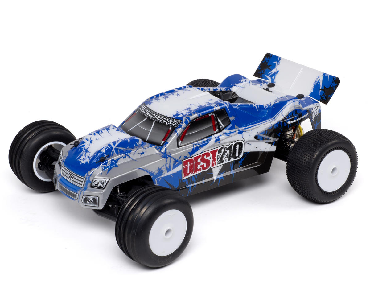 Team Durango DEST210 1/10 2WD Electric RTR Stadium Truck w/2.4GHz Radio (Blue)