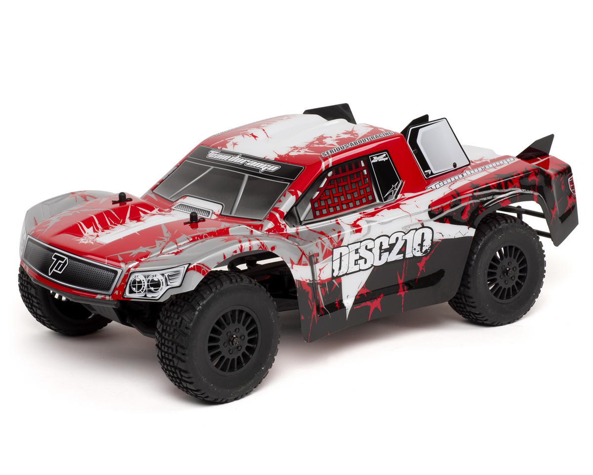 Team Durango DESC210 1/10 Scale Electric 2WD RTR Short Course Truck w/2.4GHz Radio (Red)