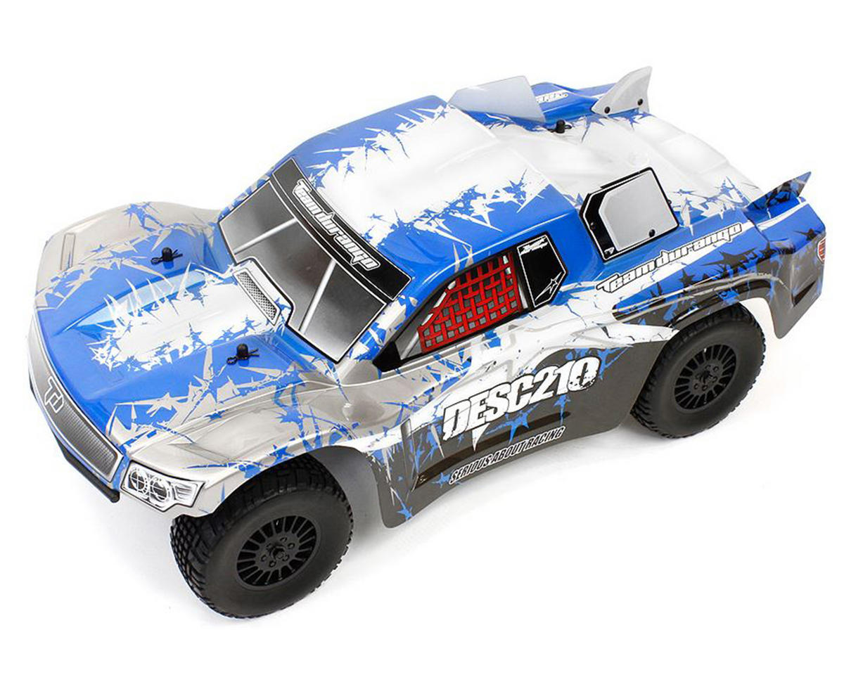 DESC210 1/10 Scale Electric 2WD RTR Short Course Truck w/2.4GHz Radio (Blue) by Team Durango