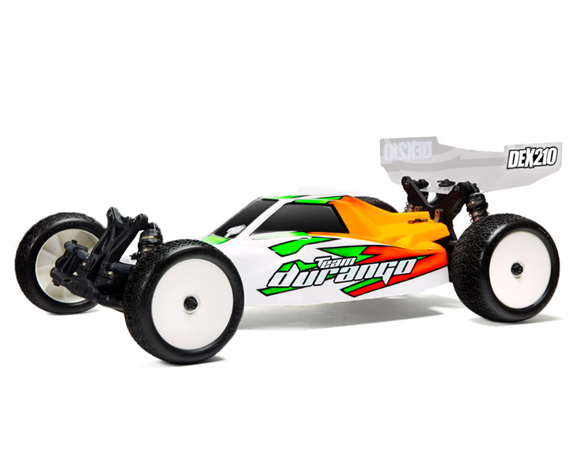 Team Durango DEX210F Mid Motor 1/10 Electric 2WD Off-Road Buggy Kit