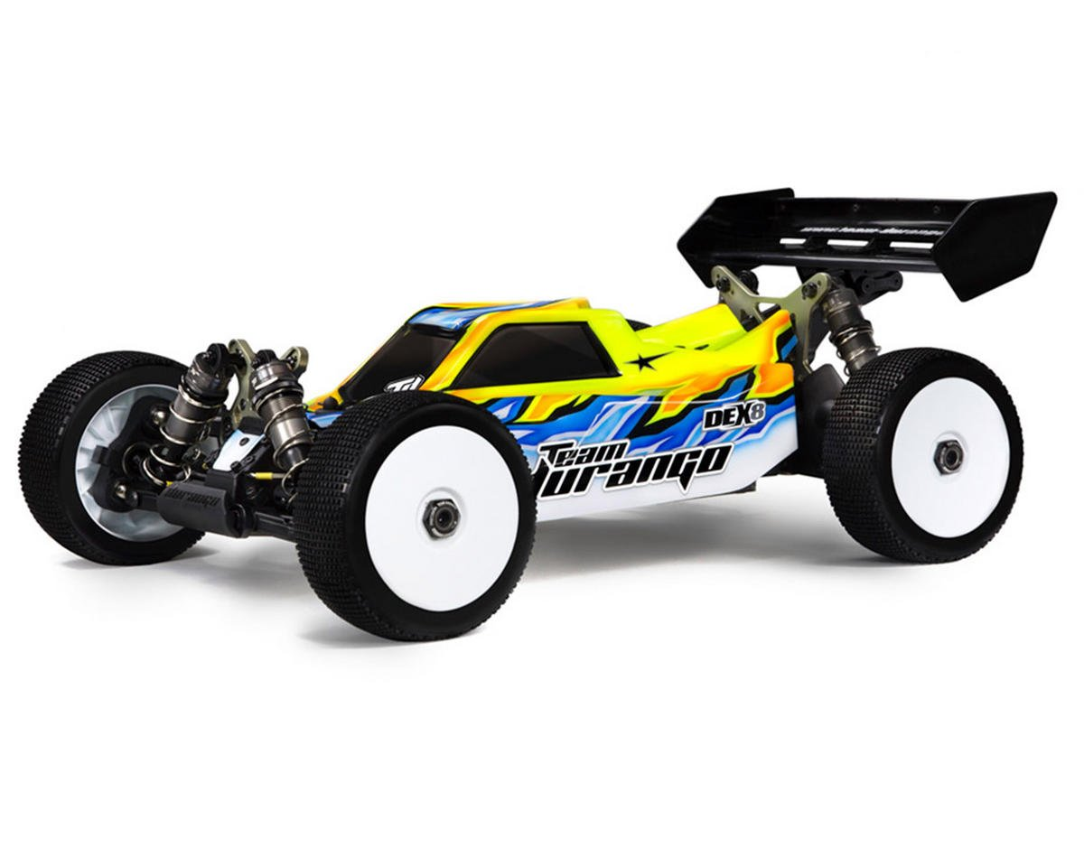 DEX8 1/8 Competition Electric Buggy Kit