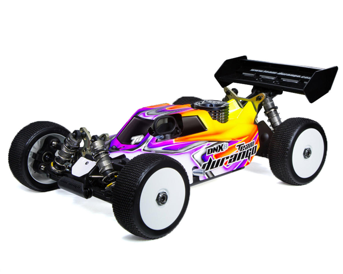 Team Durango DNX8 1/8 Competition Nitro Buggy Kit