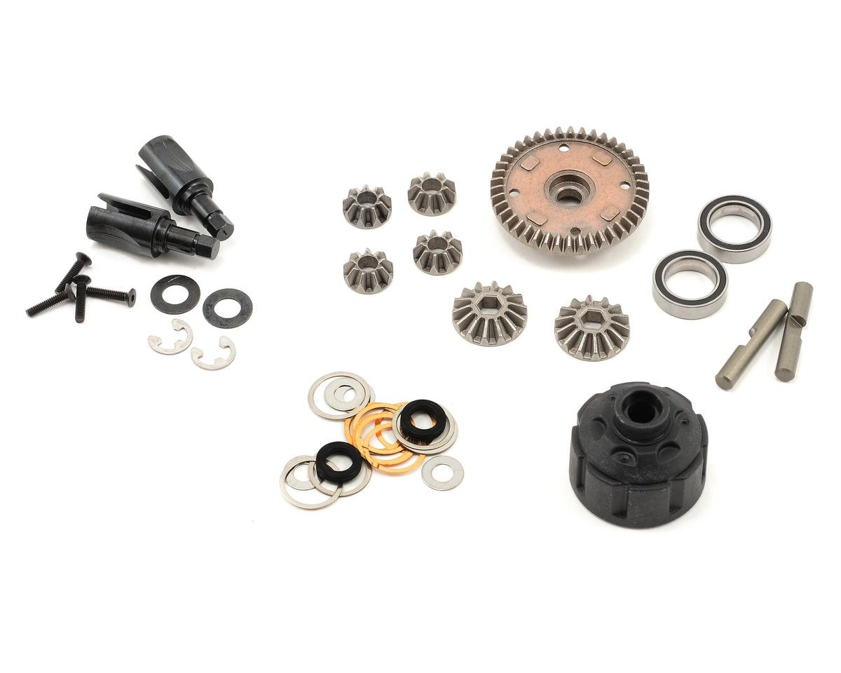 Team Durango DEX410 Geared Differential Set (Complete)