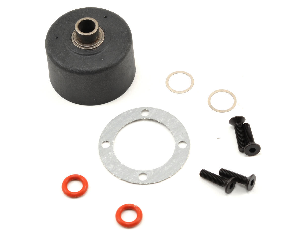 Team Durango DEX408 Differential Housing Set