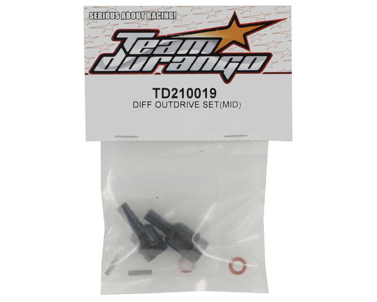 Team Durango Center Differential Outdrive Set (2)