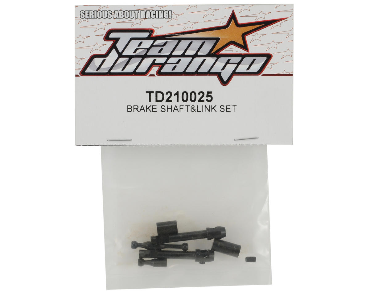 Team Durango Brake Shaft & Link Set