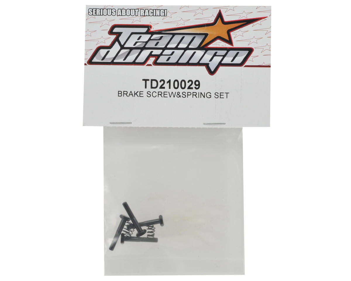 Team Durango Brake Screw & Spring Set