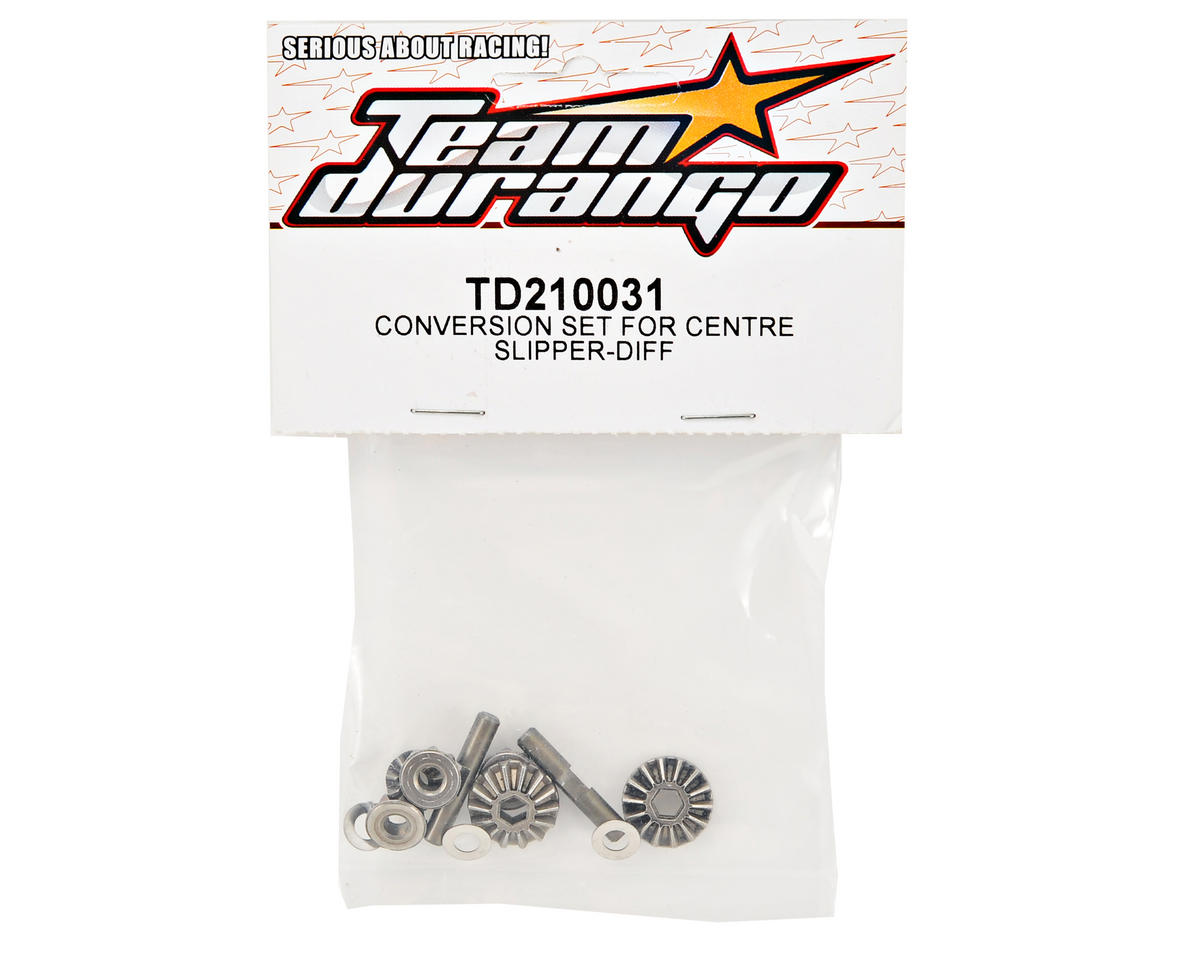 Team Durango Center Differential Gear Diff Conversion Set