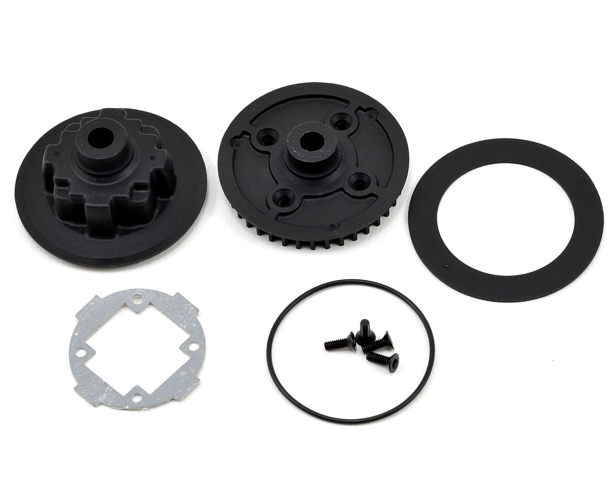 Team Durango Differential Case & Pulley Set