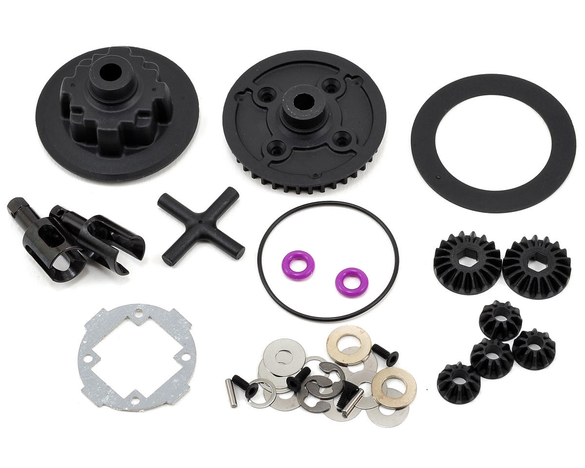 Team Durango Complete Rear Gear Differential Set