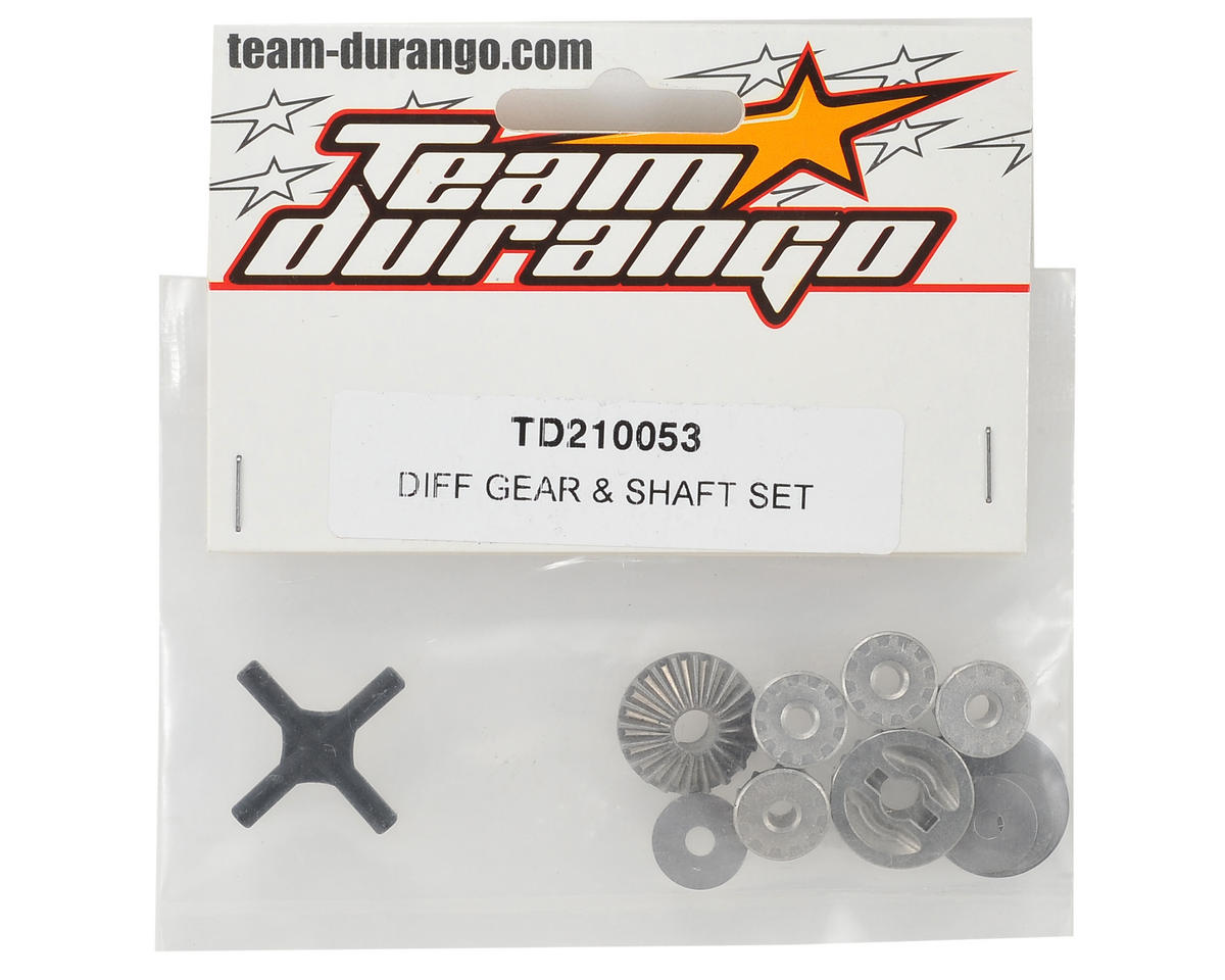 Team Durango Differential Gear/Shaft Set