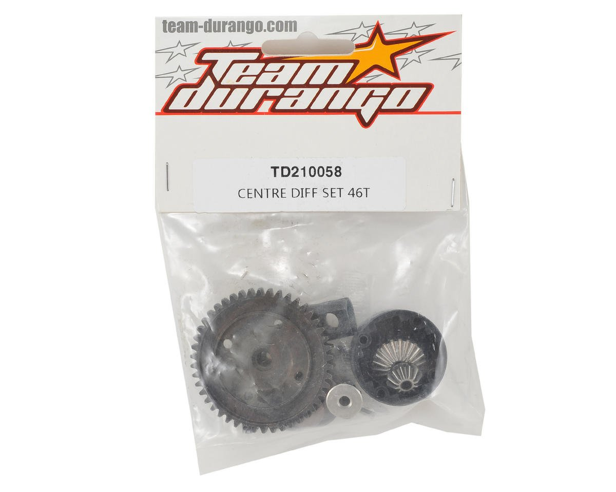 Team Durango Center Differential Set (46T)
