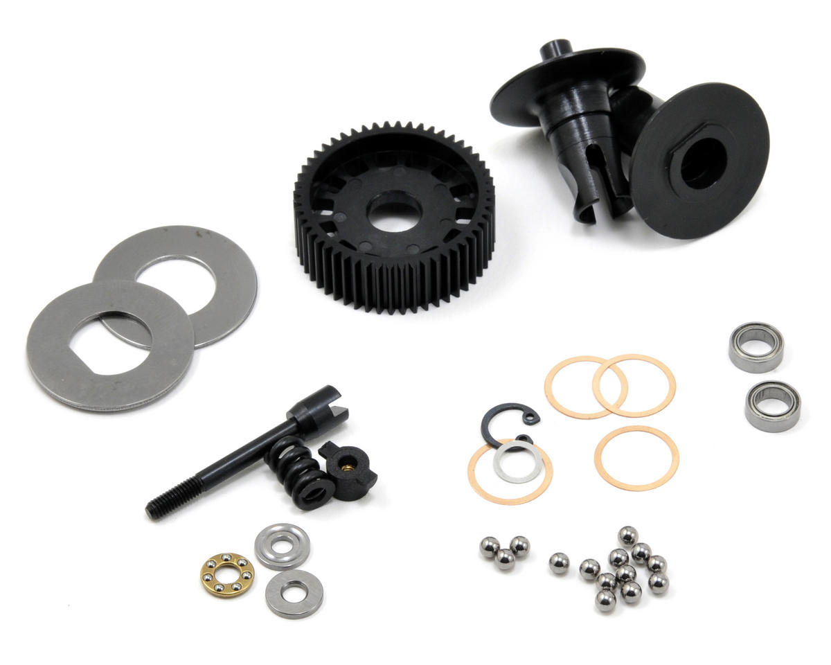 Team Durango DEST210R Ball Differential Set