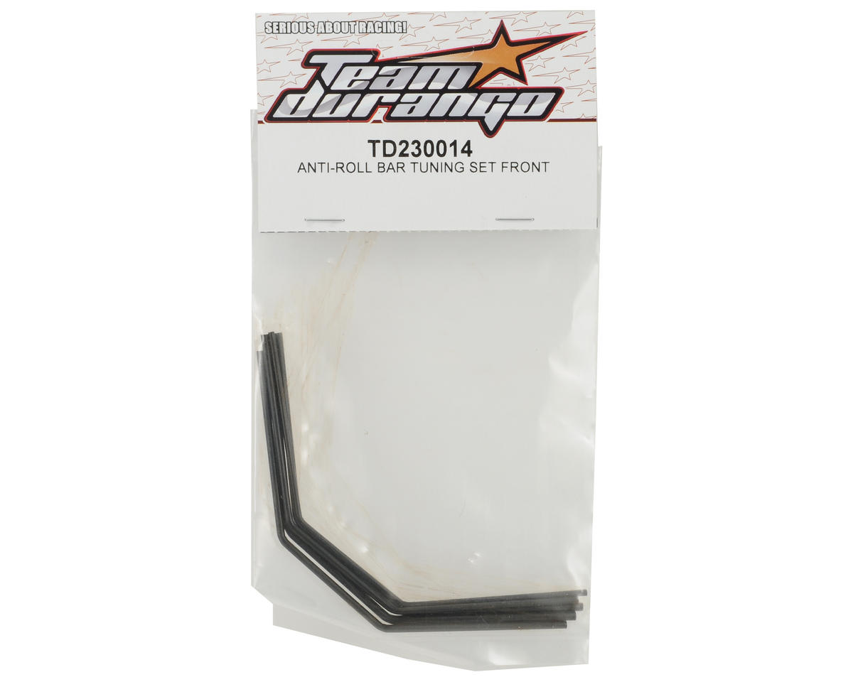 Team Durango Front Anti-Roll Bar Tuning Set (5)