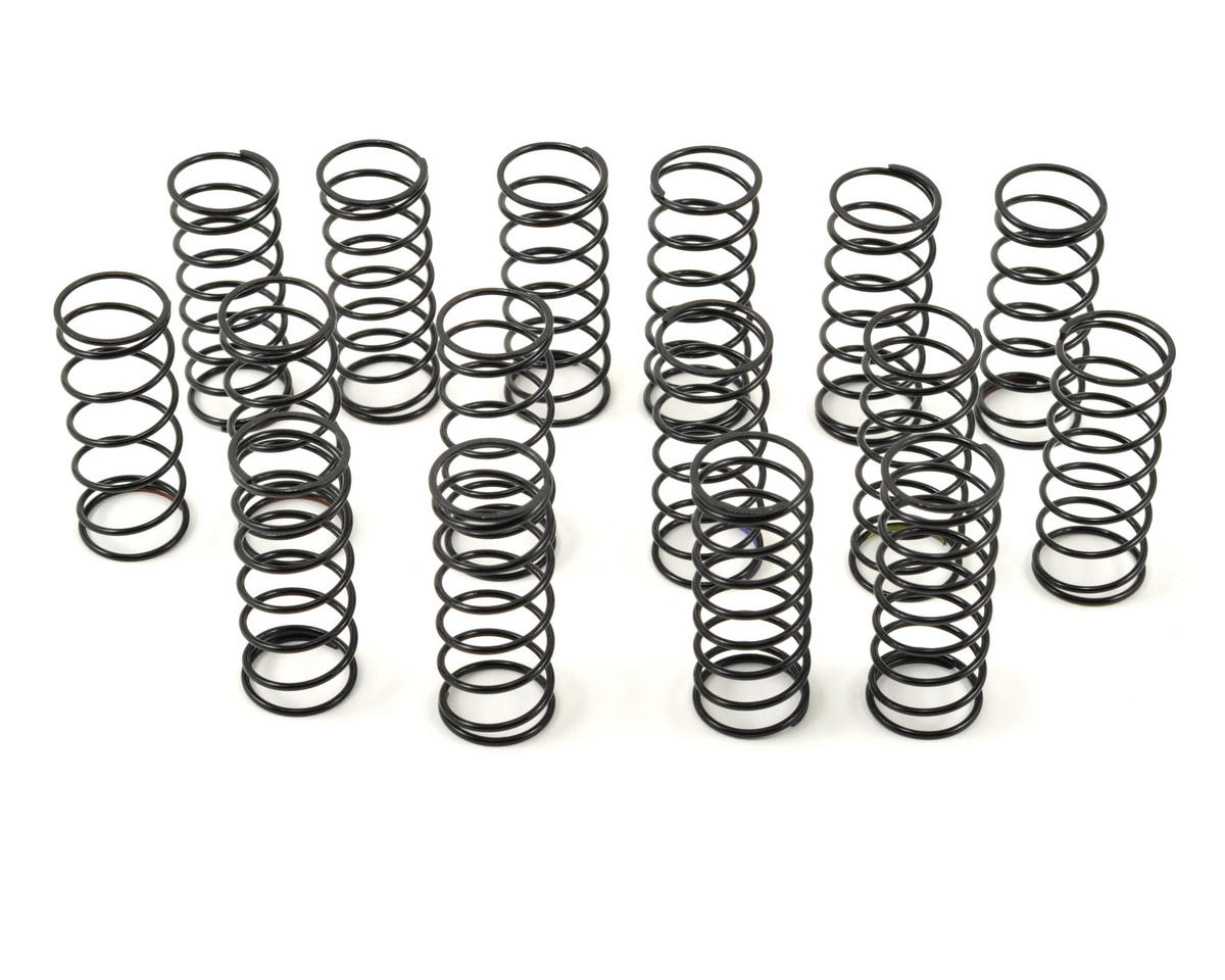 "45mm ""Hard"" Front Big Bore Shock Spring Tuning Set (8 Pair) by Team Durango"