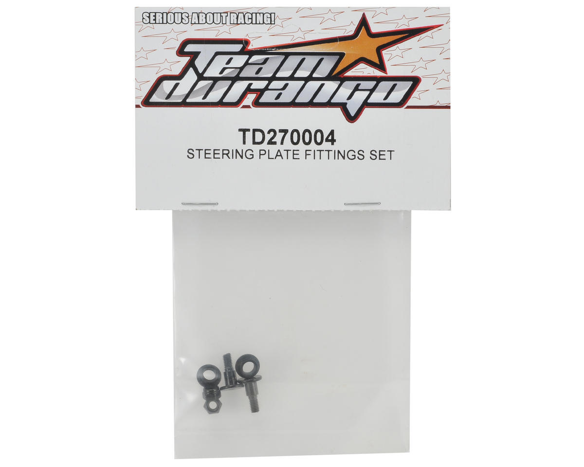 Team Durango Steering Plate Fitting Set
