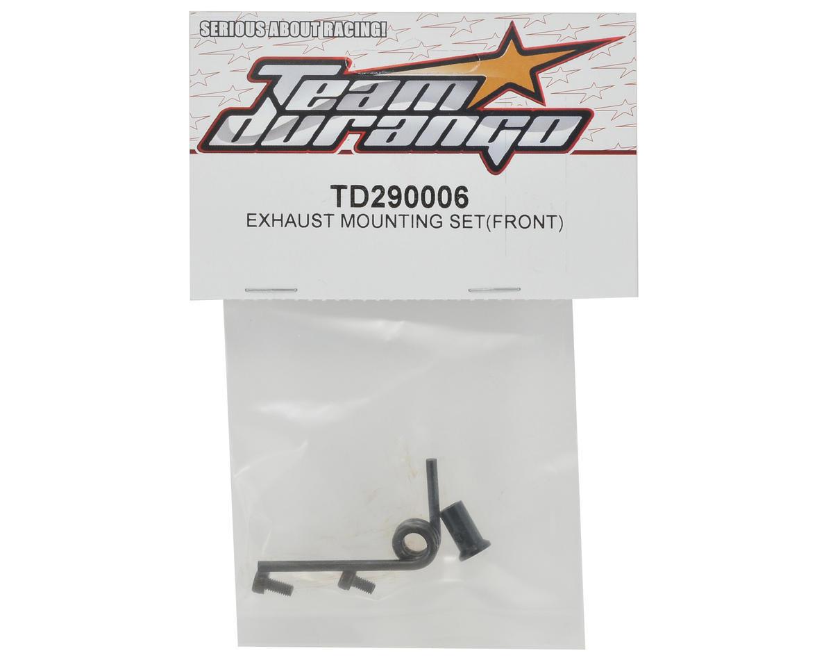 Team Durango Exhaust Mount Set (Front)