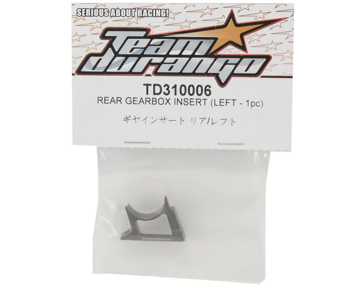 Team Durango Rear Gearbox Insert (Left)
