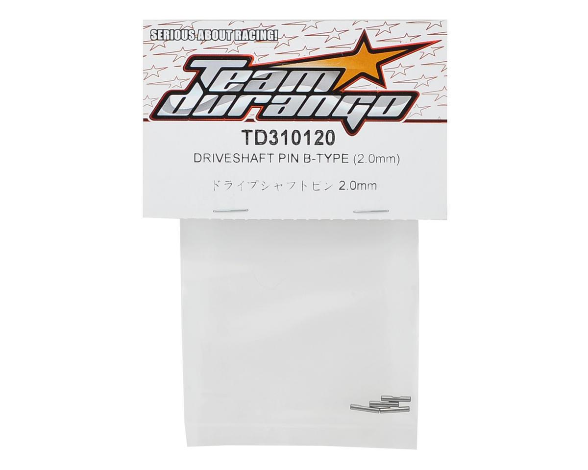 Team Durango B-Type Driveshaft Pin Set (2.0mm) (4)