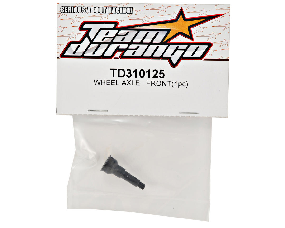 Team Durango Front Wheel Axle