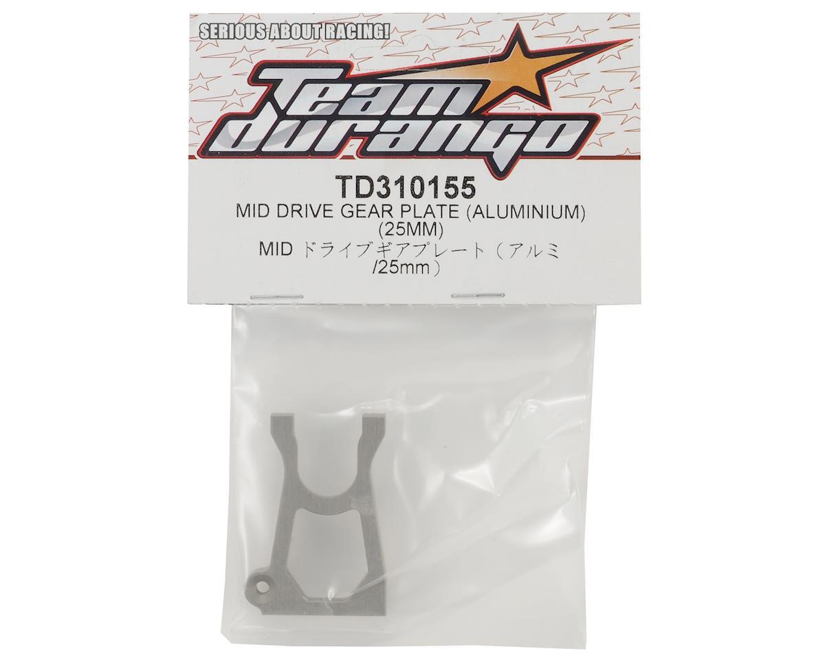 Team Durango 25mm Aluminum Mid Drive Gear Plate
