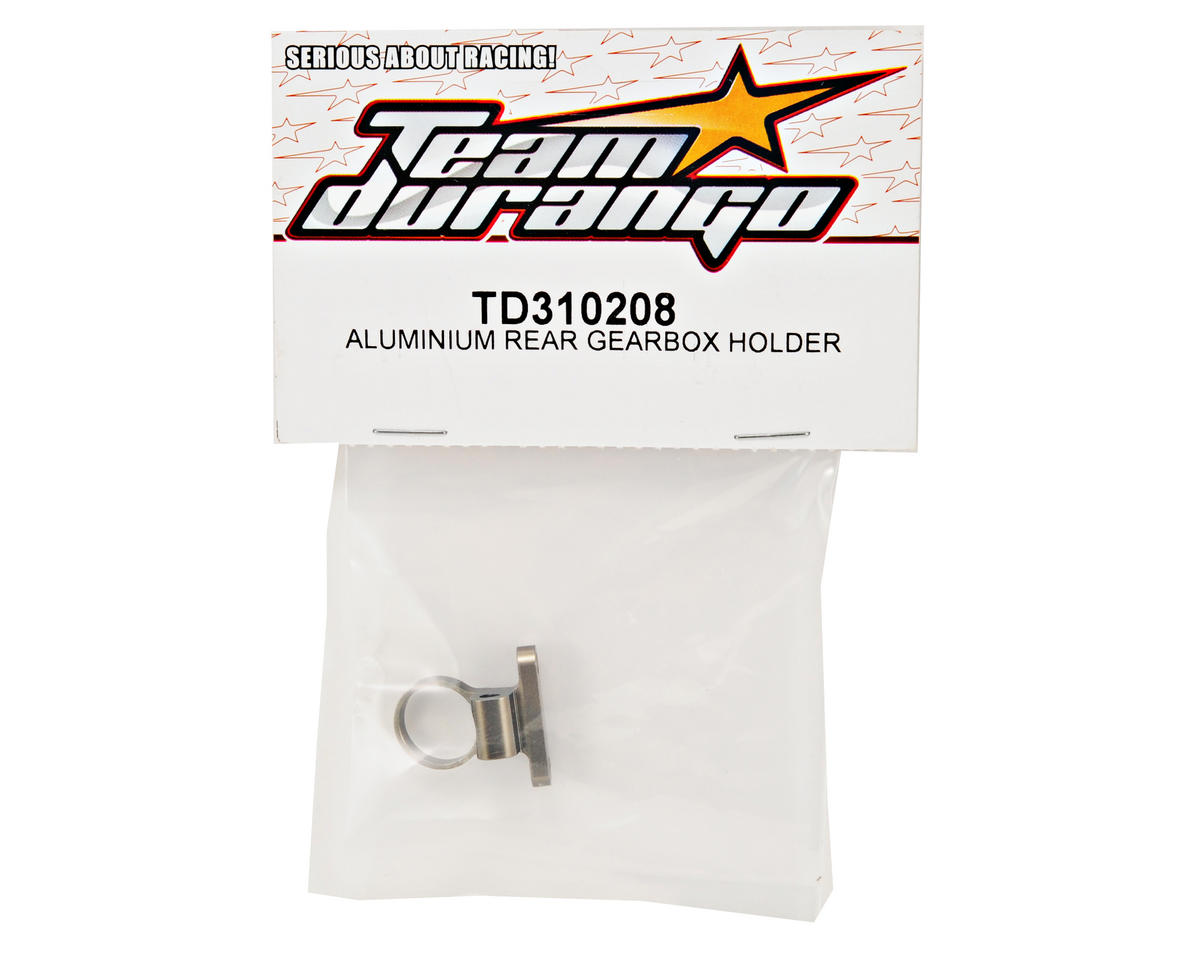 Team Durango Rear Aluminum Gear Box Holder