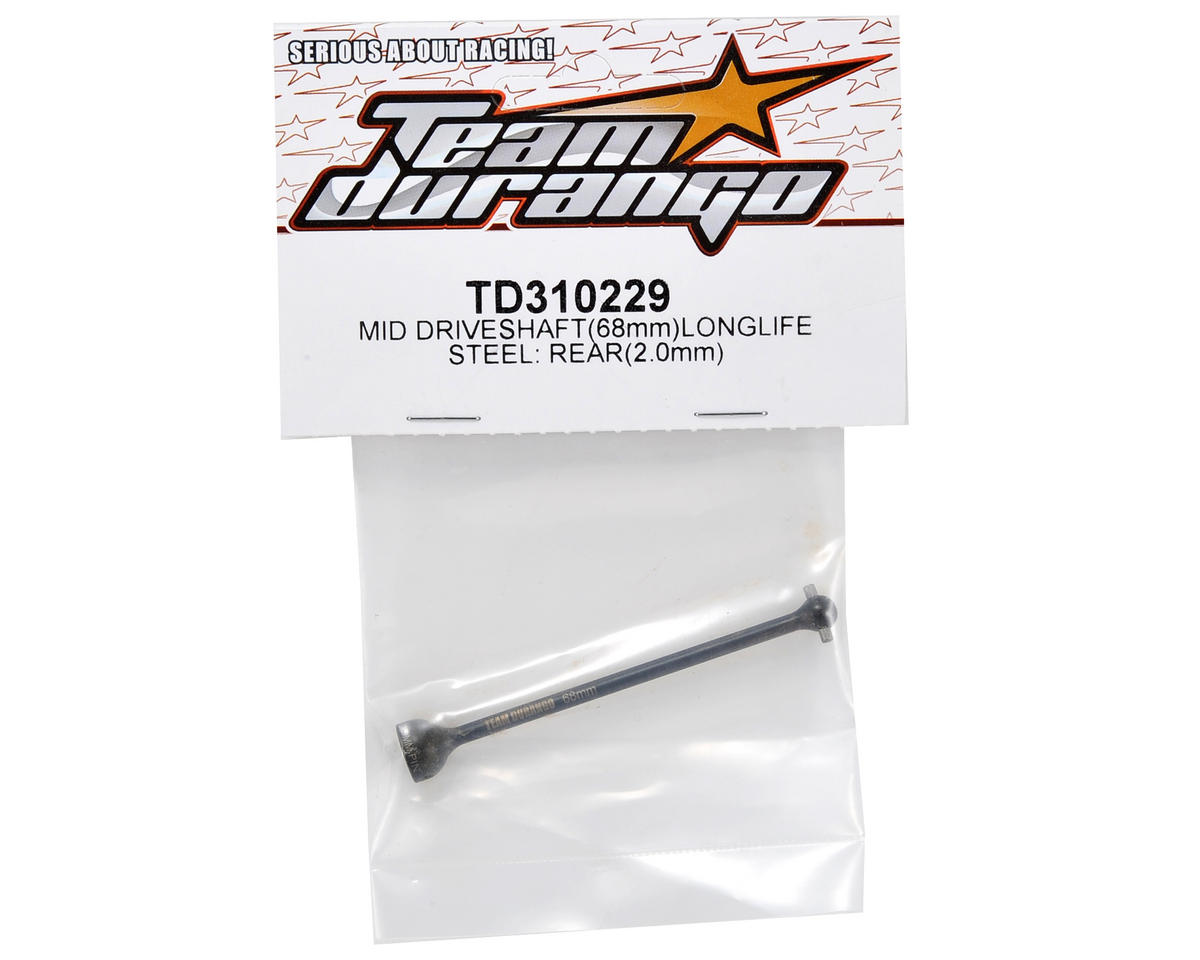 "Team Durango 68mm ""Longlife"" Center/Rear Driveshaft"