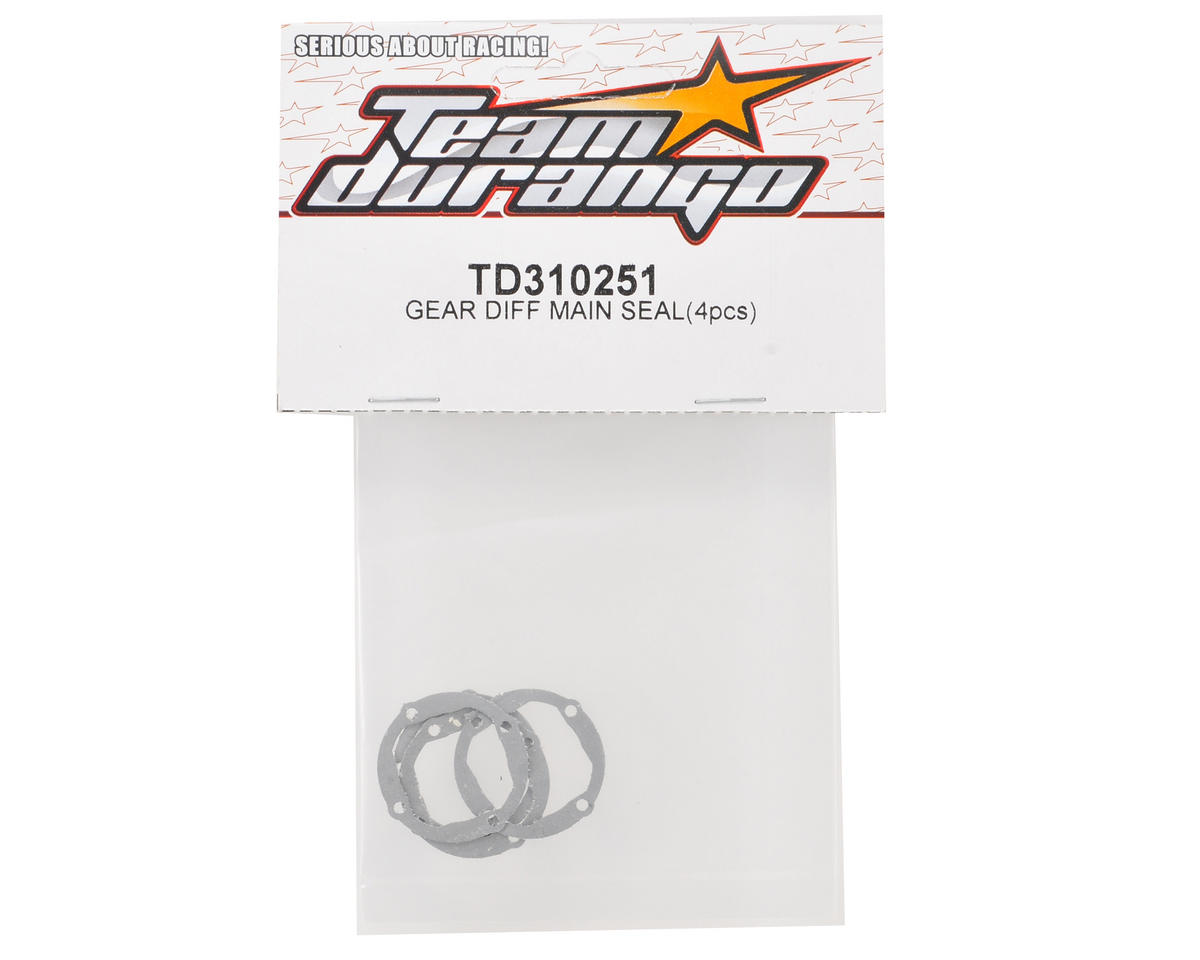 Team Durango Gear Differential Main Seal Set (4)