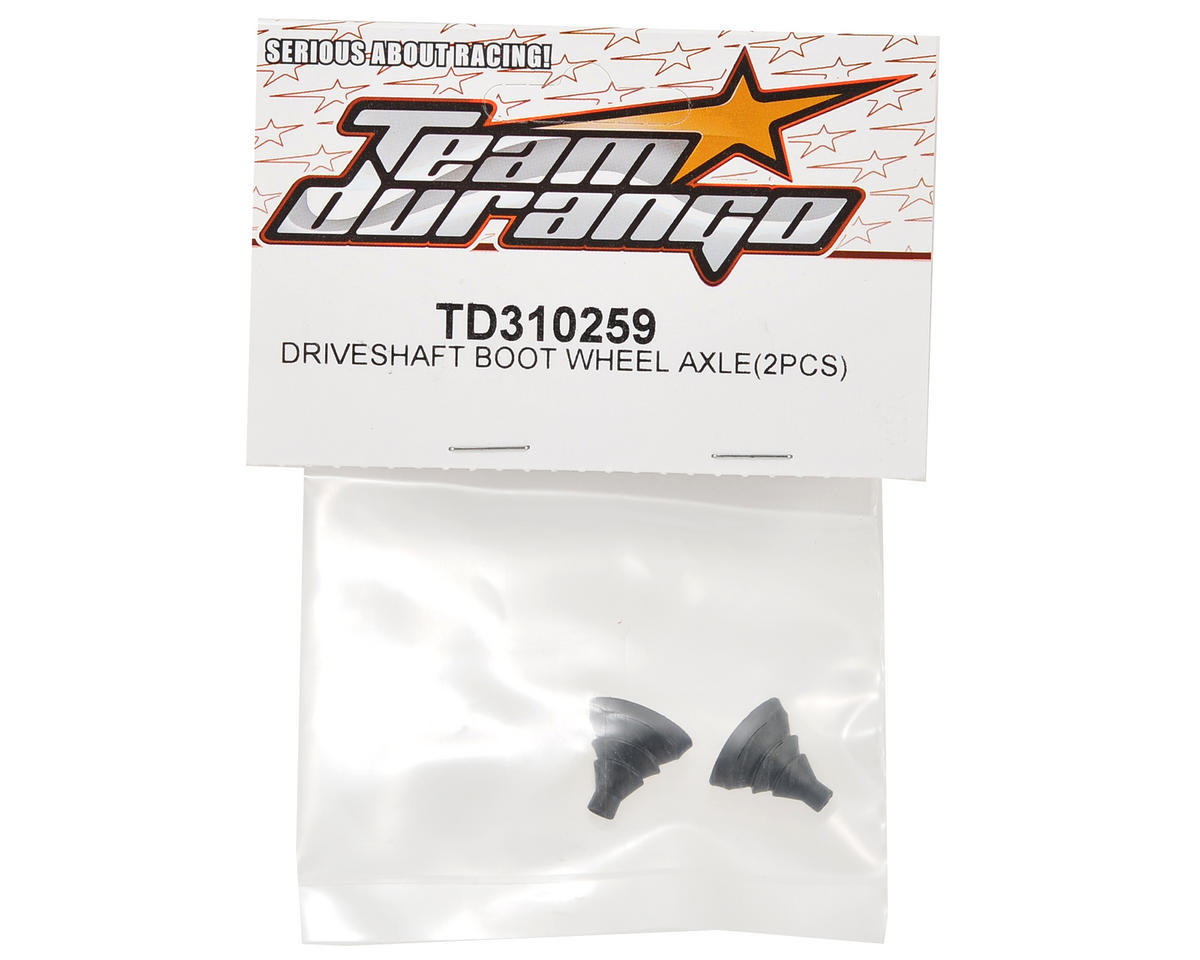 Team Durango Driveshaft Wheel Axle Boot (2)