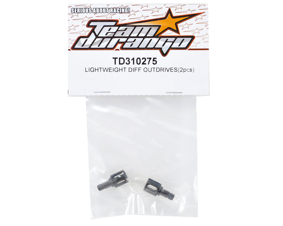 Team Durango Lightweight Gear Differential Outdrive Set (2)