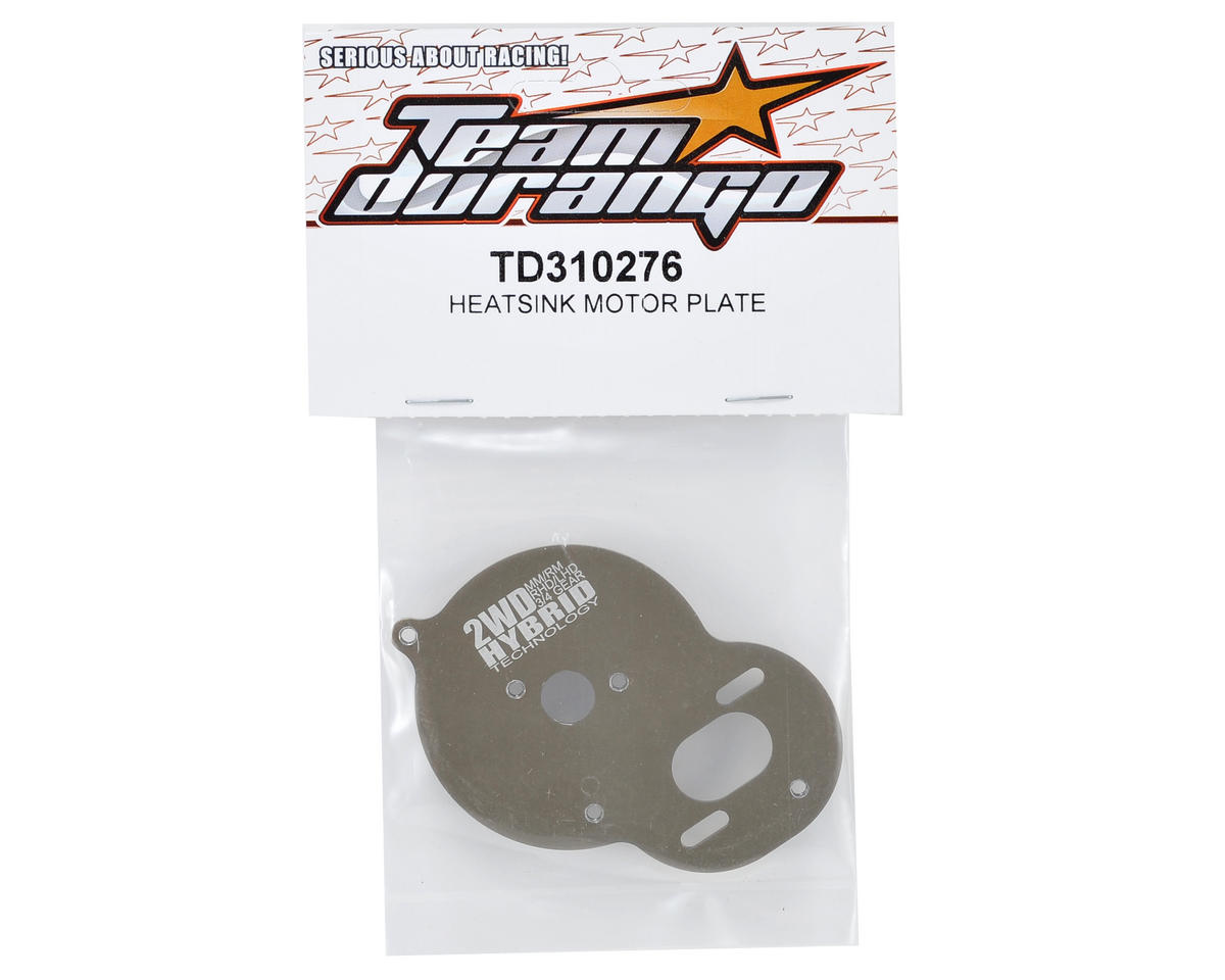 Team Durango Heatsink Motor Plate