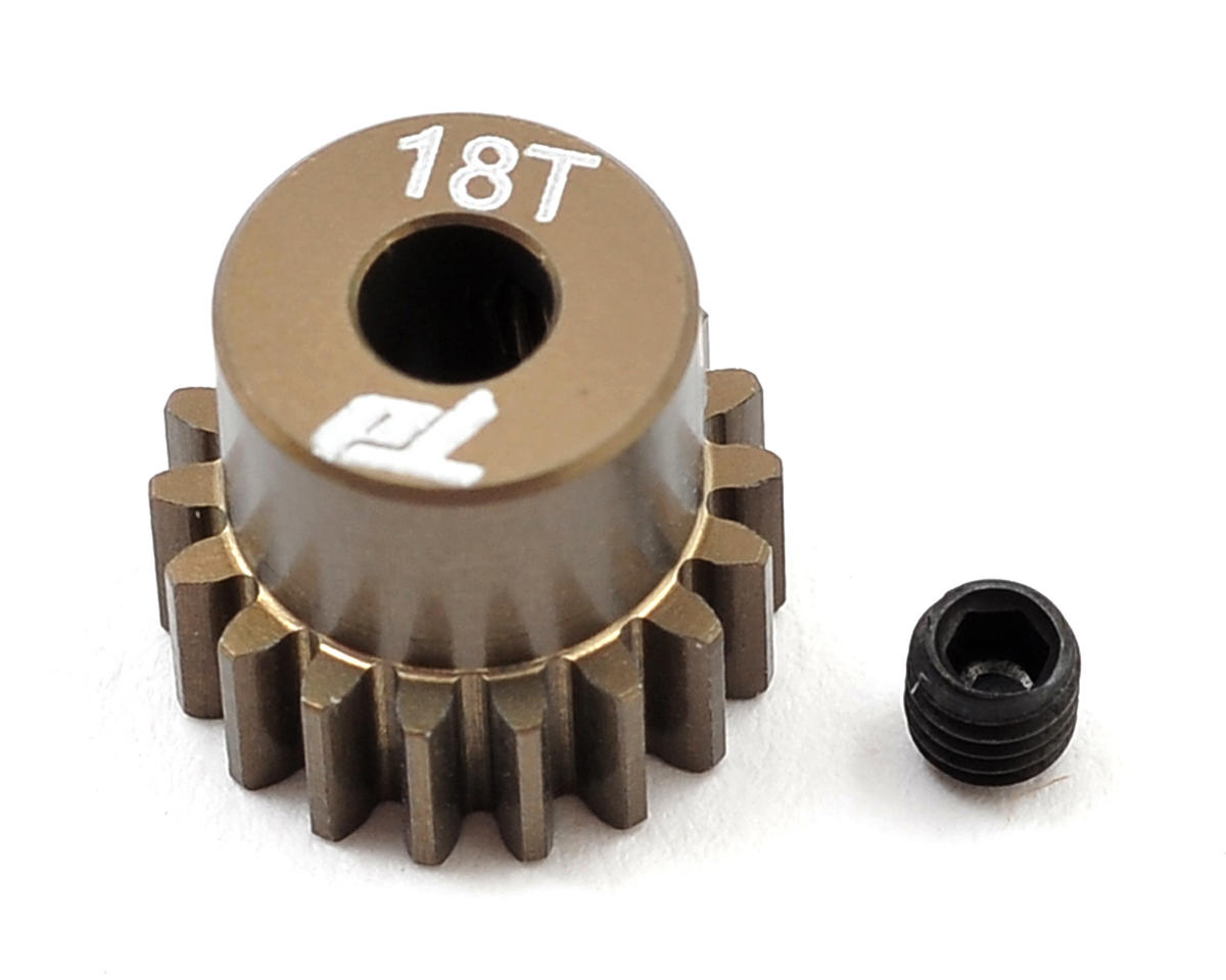 Team Durango Aluminum 48P Pinion Gear (3.17mm Bore) (18T)