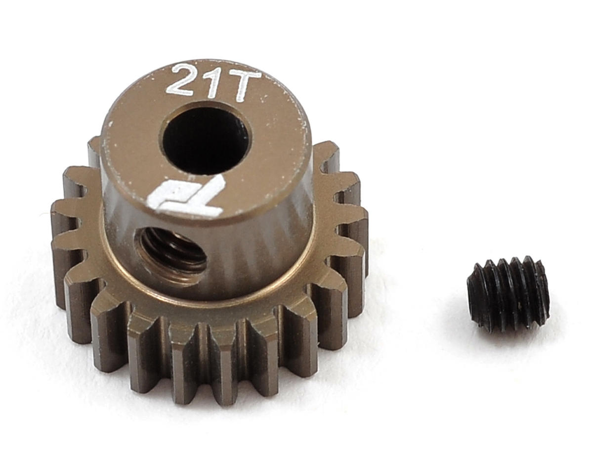 Team Durango Aluminum 48P Pinion Gear (3.17mm Bore) (21T)