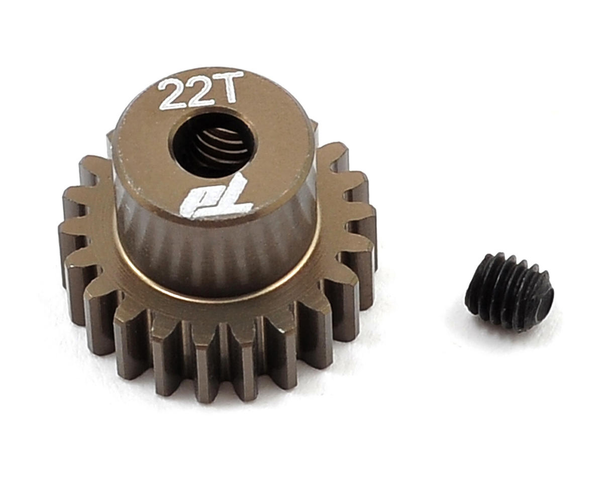 Team Durango Aluminum 48P Pinion Gear (3.17mm Bore) (22T)