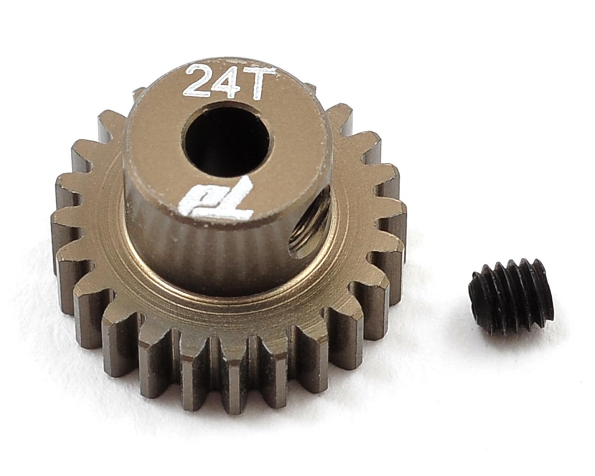 Team Durango Aluminum 48P Pinion Gear (3.17mm Bore) (24T)