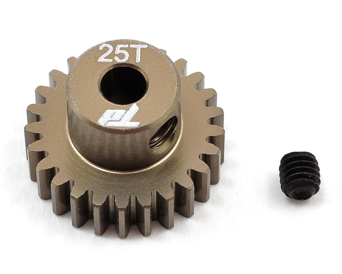 Team Durango Aluminum 48P Pinion Gear (3.17mm Bore) (25T)
