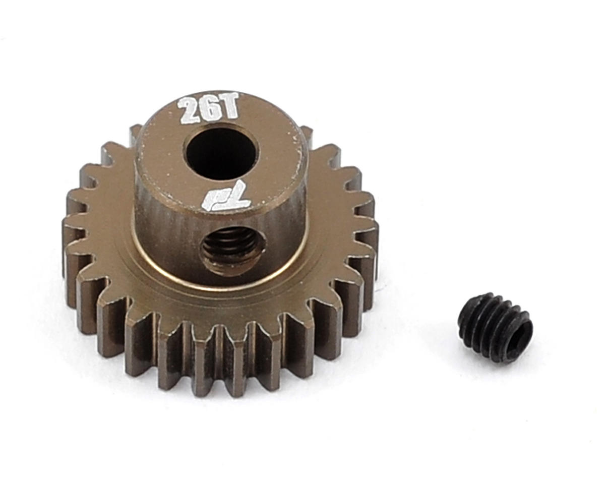 Team Durango Aluminum 48P Pinion Gear (3.17mm Bore) (26T)