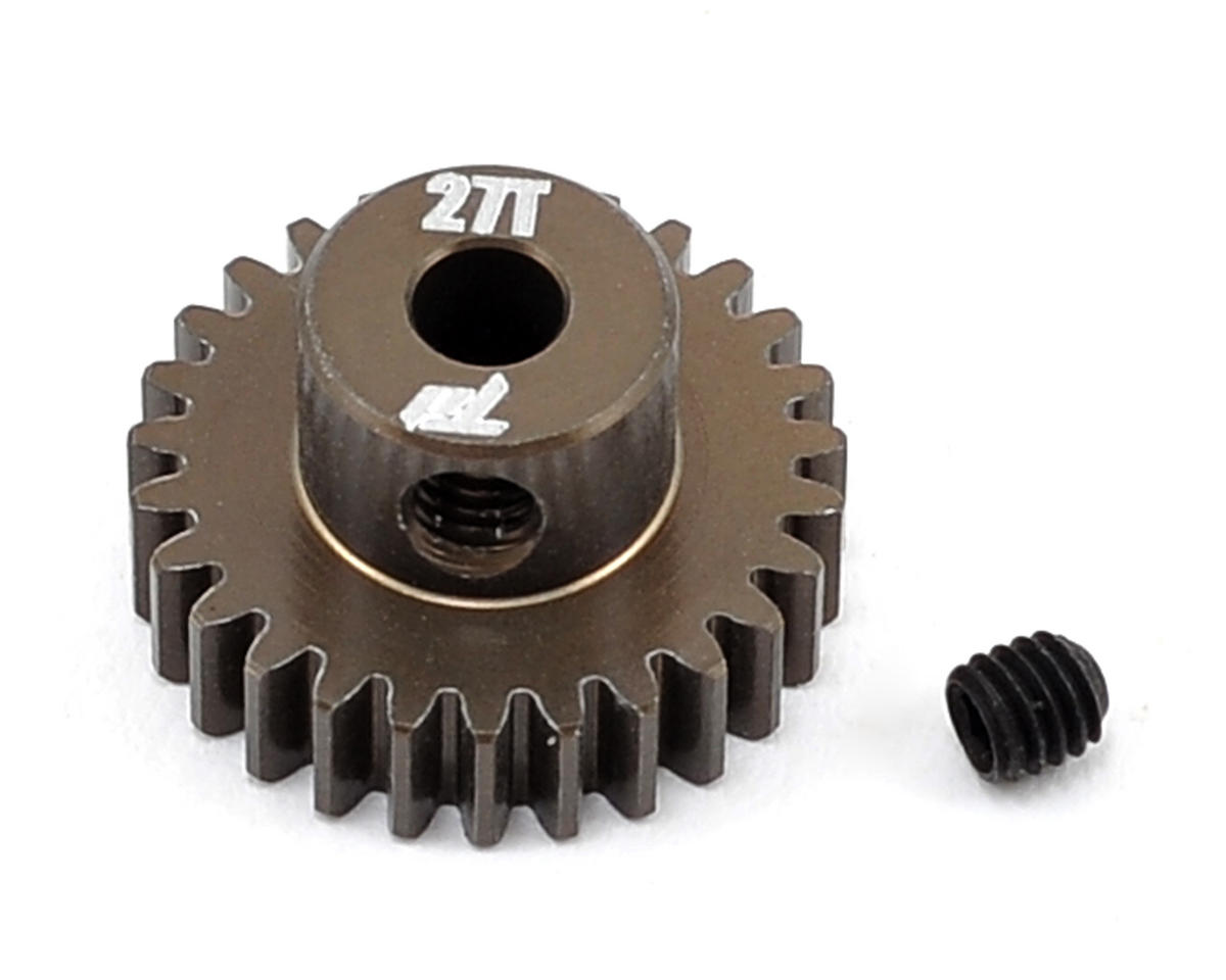 Team Durango Aluminum 48P Pinion Gear (3.17mm Bore) (27T)
