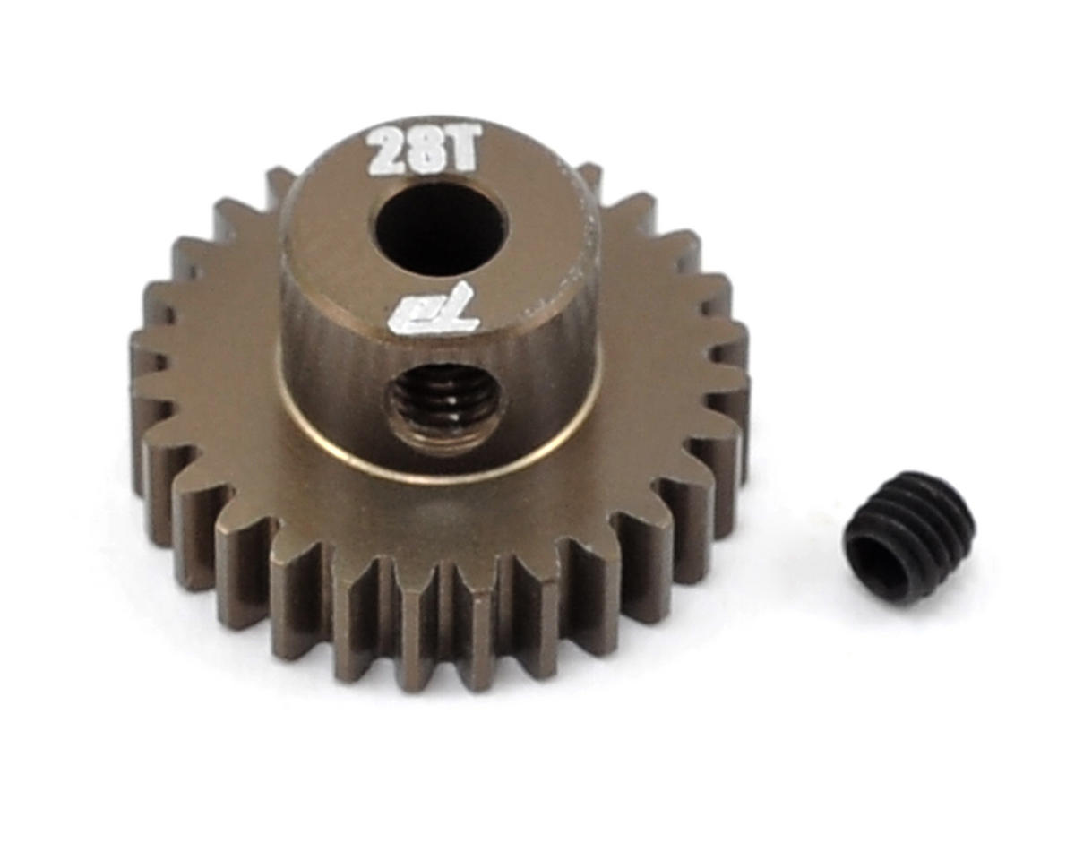 Team Durango Aluminum 48P Pinion Gear (3.17mm Bore) (28T)