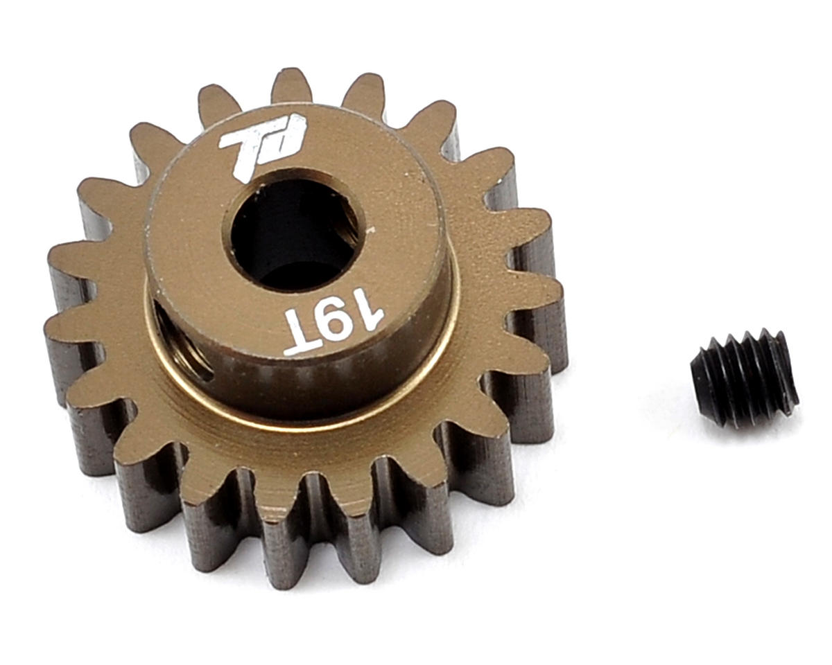 Team Durango Aluminum Mod1 Pinion Gear w/5mm Bore (19T)